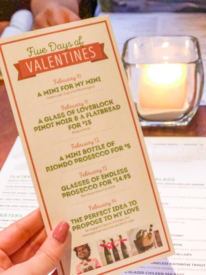 Seasons 52 Altamonte Review & Valentine's Day Deals