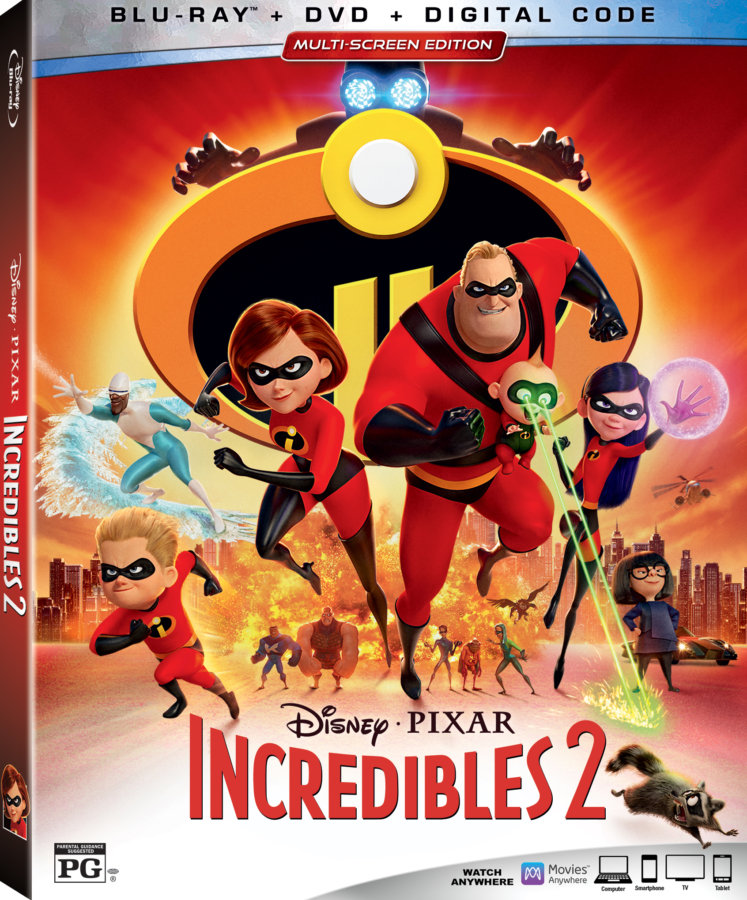 Incredibles 2 Blu-ray