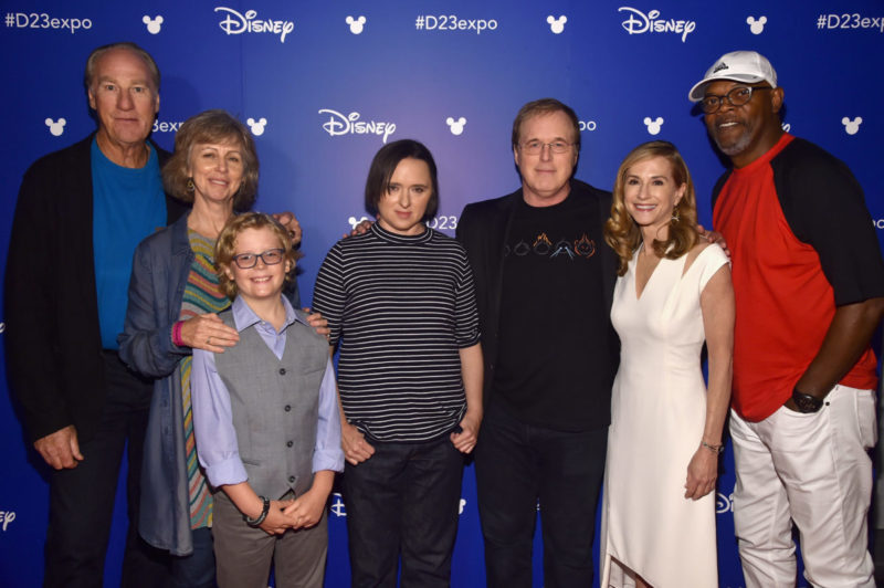 Incredibles 2 cast D23 Expo 2017