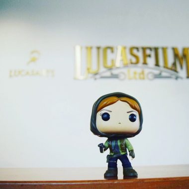 Someone pinch me! I visited Skywalker Ranch and toured Lucasfilm HQ! #RogueOneEvent