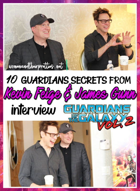 10 Guardians Secrets revealed by James Gunn
