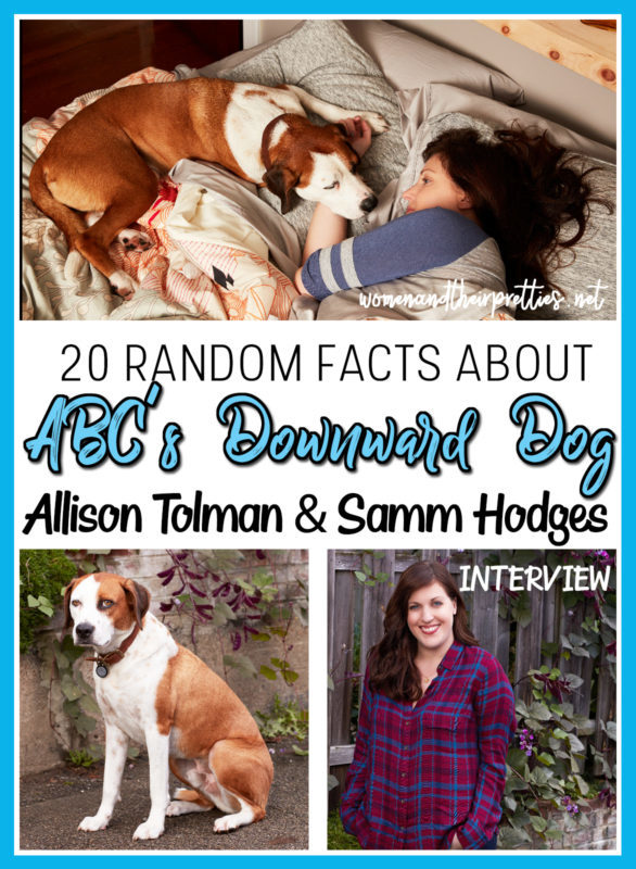 Downward Dog cast Interview: Allison Tolman as NAN and the voice of the dog, Samm Hodges, who is also the director.