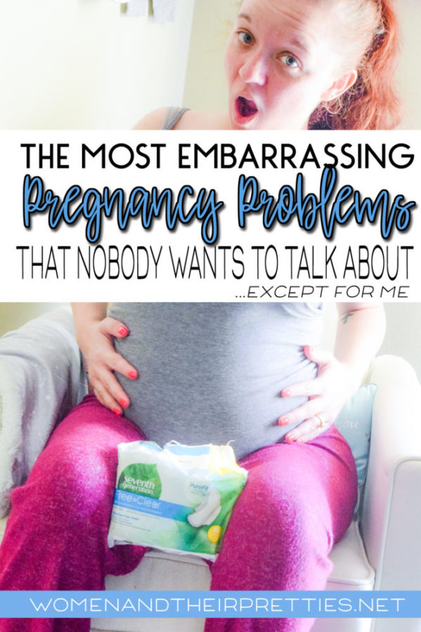 The Most Embarrassing Pregnancy Problems (that nobody likes to talk about)