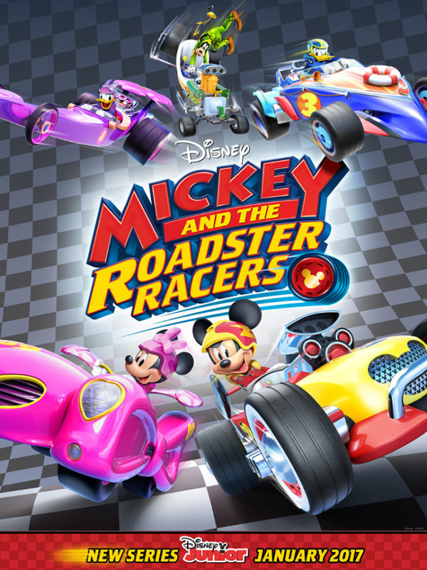 Mickey and the Roadster Racers event - read more about it here!