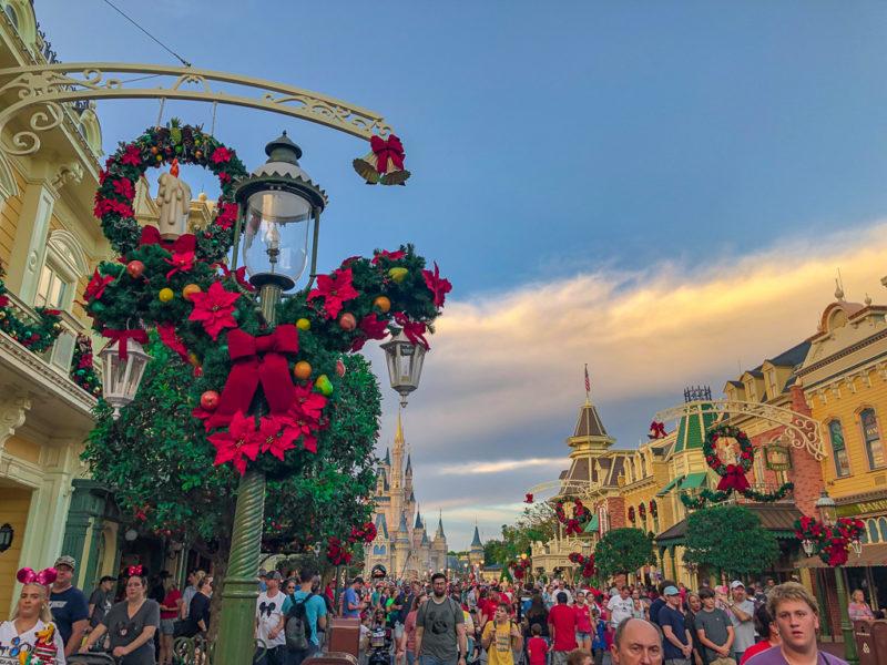 Magic Kingdom Christmas Decor