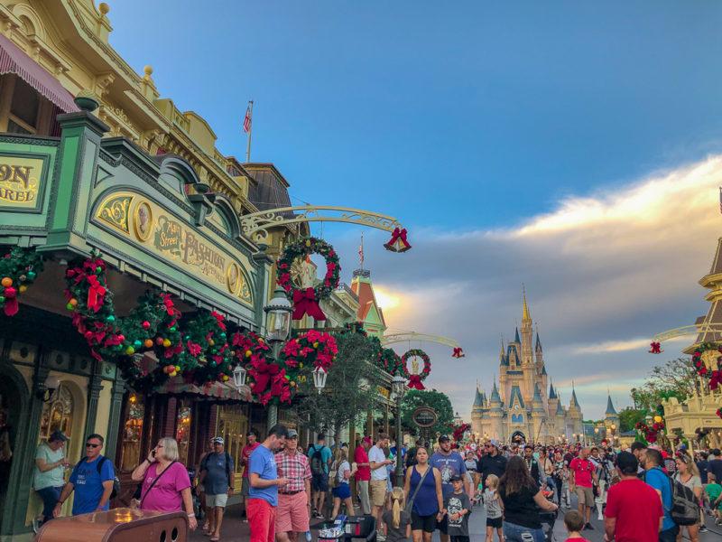 visit magic kingdom for the holidays