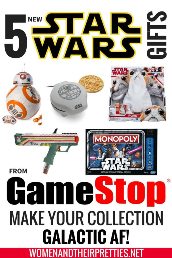 Are you looking for the most epic gifts to make your Star Wars collection galactic af? These are 5 new gifts that any fan from this galaxy or the next would totally geek out over. I partnered with GameStop for this epic Star Wars gift guide.