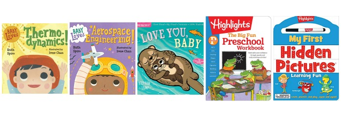 New Books to add to your Christmas Shopping List baby books