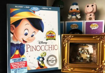 Rekindling my love for Pinocchio – Pinocchio Blu-ray is now available! #PinocchioBluray