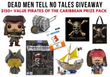 Dead Men Tell No Tales Giveaway