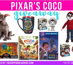 Pixar Giveaway | Pixar Coco Prize Pack