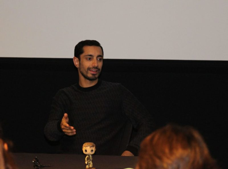 Bodhi Rooke: A simple guy making HUGE contributions. Riz Ahmed Rogue One Interview #RogueOneEvent