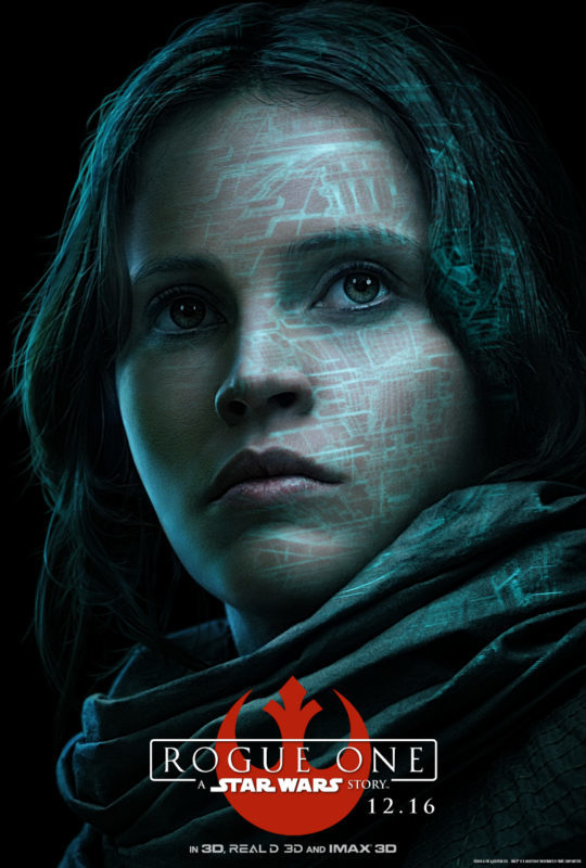 The Star Wars heroine speaks out: My OFFICIAL Felicity Jones Rogue One Interview #RogueOneEvent