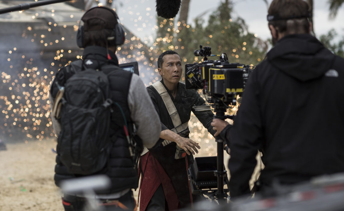 Developing the blind Rogue One fighter, Chirrut: Donnie Yen Rogue One Interview #RogueOneEvent