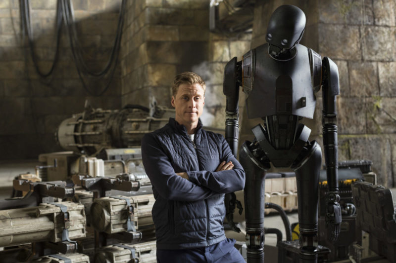 Chatting with K-2SO and Galen Erso: Alan Tudyk & Mads Mikkelsen Rogue One Interview #RogueOneEvent