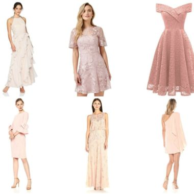 Love is in the air & you're looking for the perfect dress to wear – BUT it's the last minute. Grab your favorite romantic blush dresses with Amazon Prime!