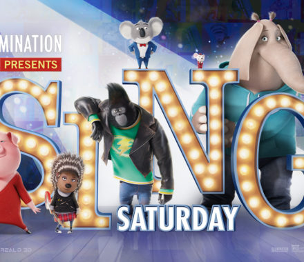 Sing Saturday - FREE Screenings of SING 11/26