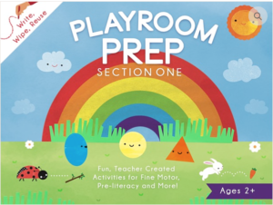 Playroom Prep Activity Book