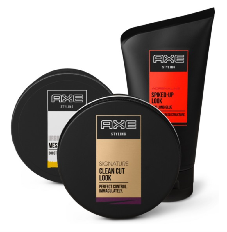 Axe Hair Products are perfect for stockings stuffers and are all under $10