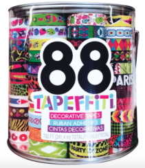 Tapefetti 88 Piece Barrel