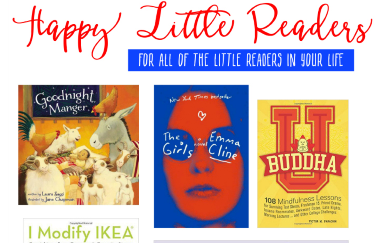 Make reading fun again with these entertaining books! Use the Happy Little Readers book gift guide to shop this holiday season!