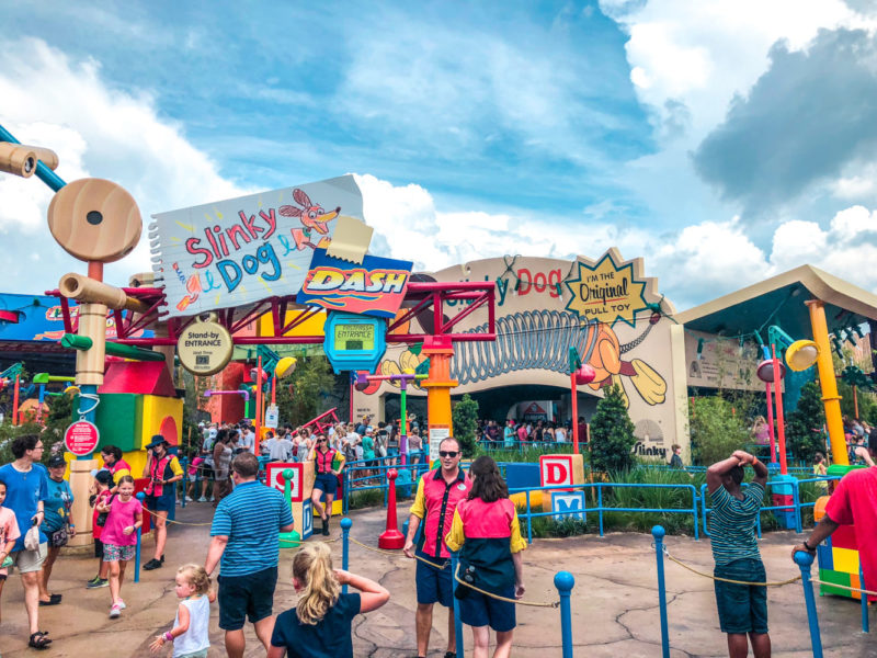 Toy Story Land Bucket List Rides
