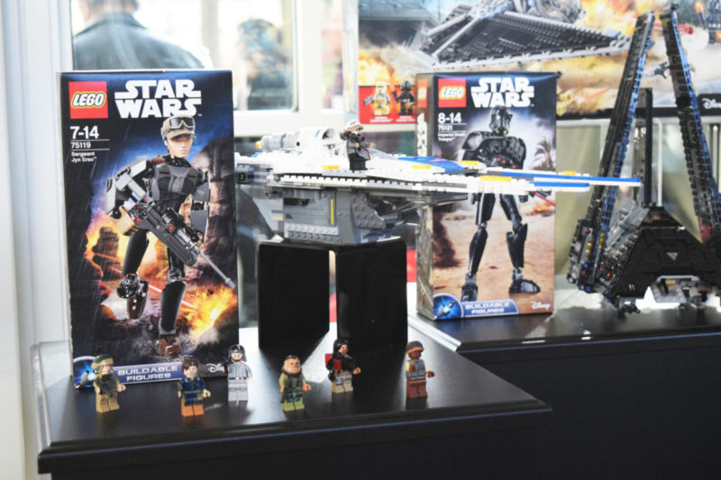 Rogue One Legos /// Someone pinch me! I visited Skywalker Ranch and toured Lucasfilm HQ! #RogueOneEvent
