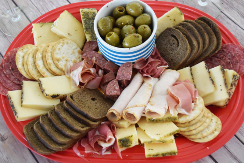 "I've always wondered how to make a cheese board. They always look so delicious and so perfectly put together. After making one myself, I realized that the more imperfect they are – the more appealing they are. The first step to making a DIY cheese board is to forget everything you've ever learned about organization. Don't allow ""rules"" to block your creativity! The key to a stress-free holiday party is to not take it too seriously. Everyone will be happy in the end, regardless."