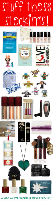 Stuff those stockings with these unique stocking stuffers. We have lots of gift ideas for ladies, but also a few for men and kids!