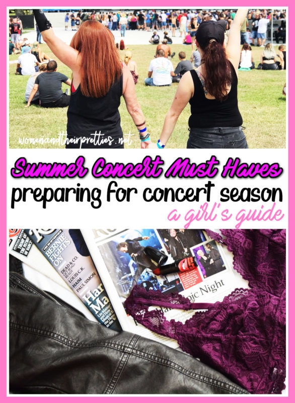 Concert Must Haves for women