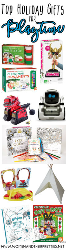 Take playing to the next level with this Top Holiday Gifts for Playtime guide! These playtime gifts are perfect for the holidays this year!