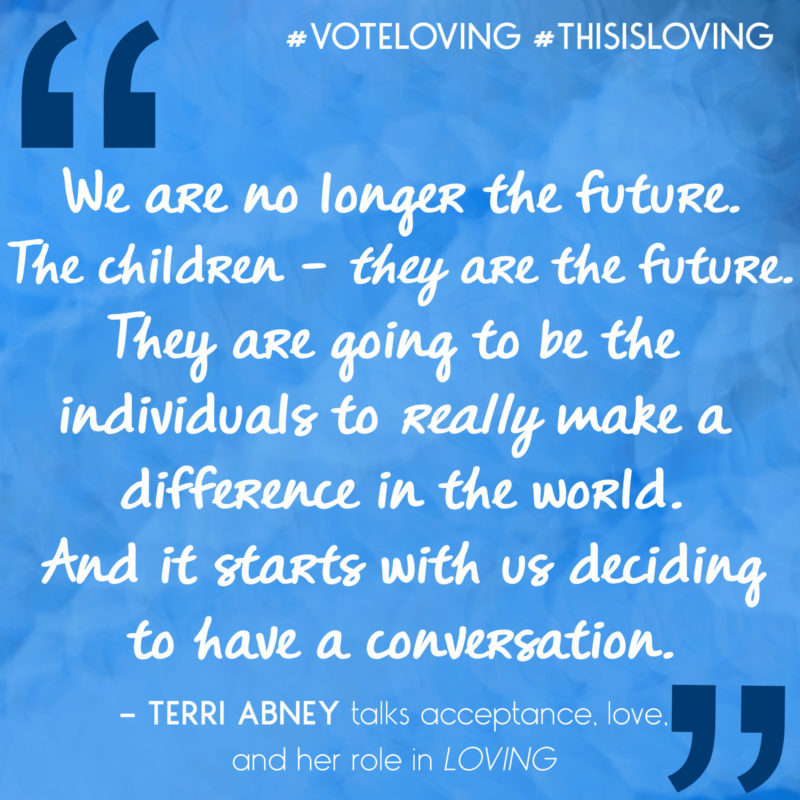 Loving's Terri Abney explains how conversations with children about love can change the world. #ThisIsLoving