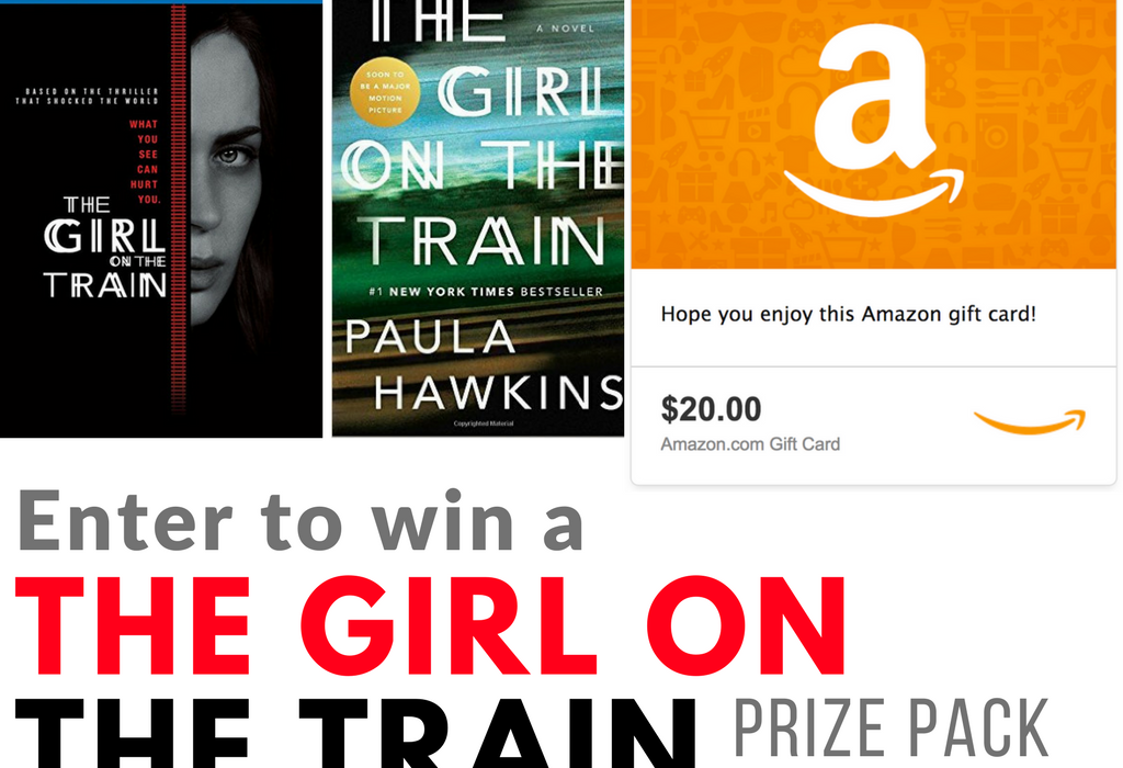 The Girl on the Train Prize Pack