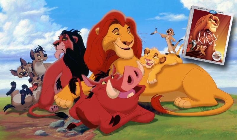 The Lion King Blu-ray Bonus Features
