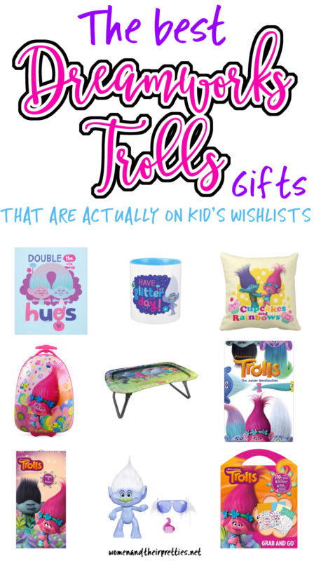 The best Trolls gifts that are actually on kid's wishlists this year!