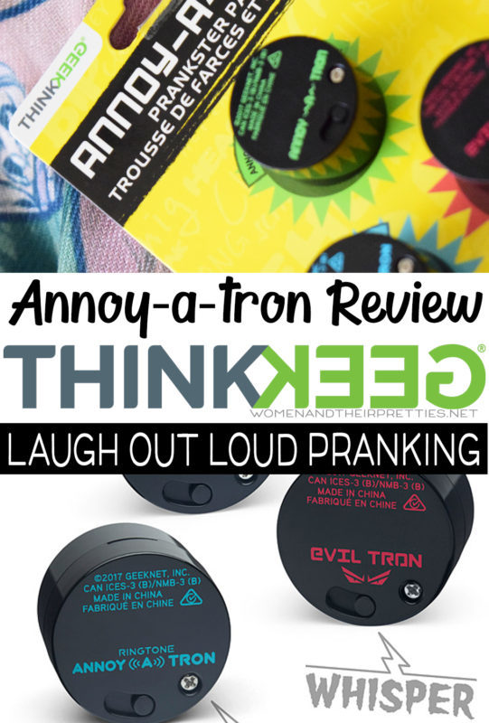 Annoy-a-tron prankster set ThinkGeek