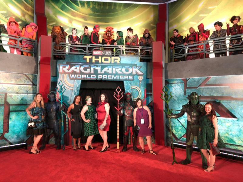 Thor: Ragnarok Premiere