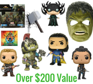 Thor Prizes Marvel Giveaway