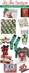 Tis the Season for giving awesome gifts. This holiday themed gift guide is sure to put anyone in the Christmas spirit!