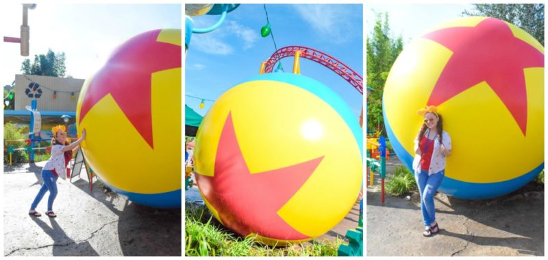 Toy Story Land Pixar Ball Pics