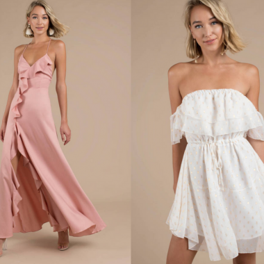 Following trends is always a bad thing. When it comes to fashion, we can't help but to gush over some of the latest trends. Here are 10 trendy summer dresses all the trendy gals are wearing this year.