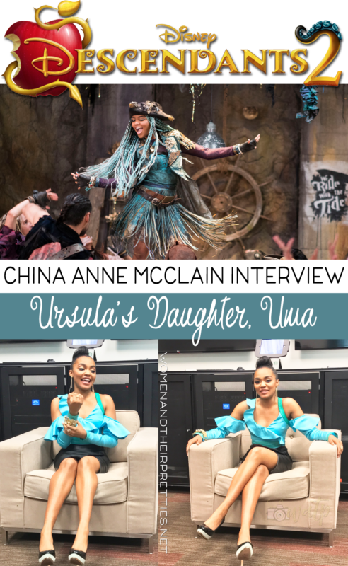 China Anne McClain Descendants 2 Interview | Ursula's Daughter Uma joins the cast of Villain Kids