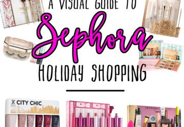 Because Sephora has so much perfection to choose from, I've create a visual guide to Sephora holiday shopping! This will give you a few popular gift ideas for this holiday season. Whether you're buying for yourself, your bestie, or your mother – Sephora has just what you need to make those beautiful babes smile.