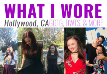 Let's talk about what I wore to the Guardians of the Galaxy Vol. 2 World Premiere, Descendants 2 Event, and DWTS lesson! I'll tell you exactly what I wore, where I got it, how I styled it, and what I almost wore in the unbiased post. This #GotGVol2event was hosted by Disney.