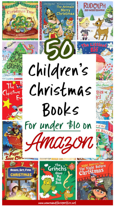 Get these awesome Children's Christmas books on Amazon for under $10! Stock up now before it's too late. 50 books for under $10!