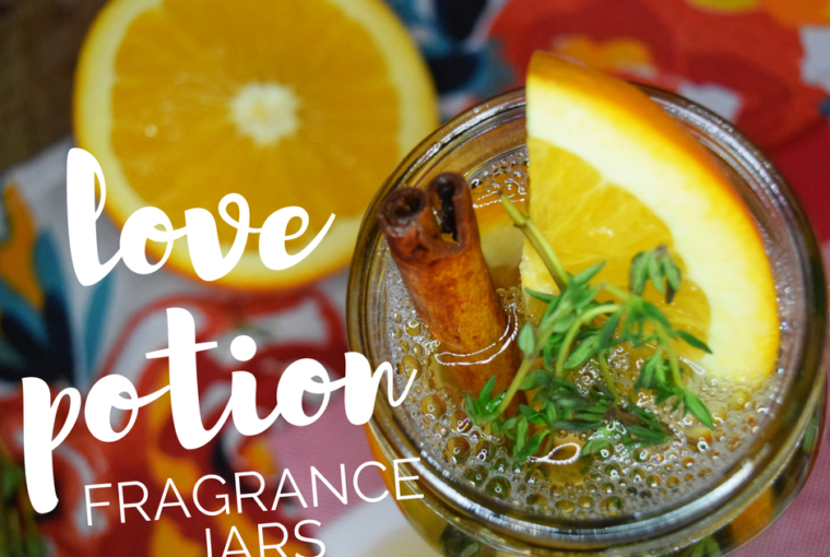 DIY love potion fragrance jars: An easy handmade Valentine's Day gift for anyone!