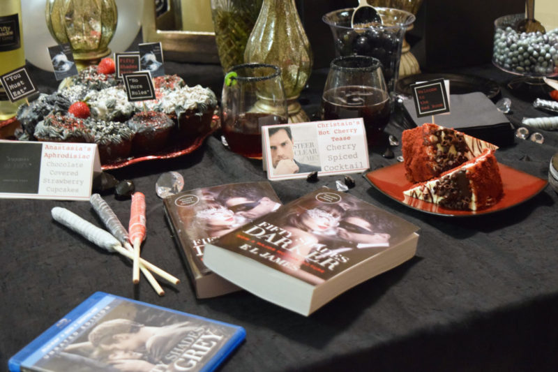 Fifty Shades Party Spread