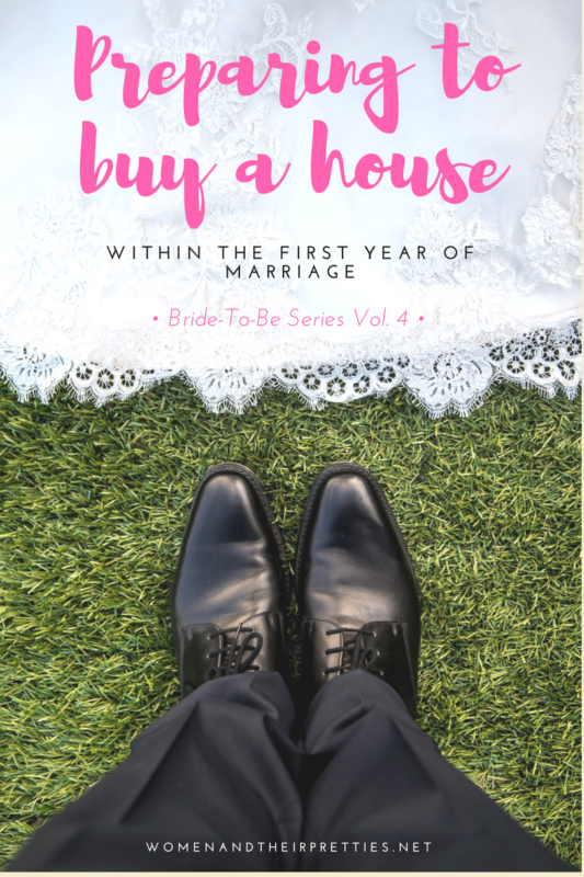 Are you an engaged couple preparing to buy a house? Our goal is to buy within our first year of marriage. Here are a few tips to prepare for your first huge martial decision.
