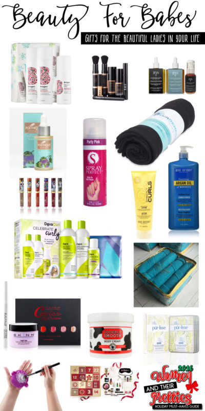 Get beauty for all of the babes this holiday season! This beauty gift guide is sure to make her smile this year!